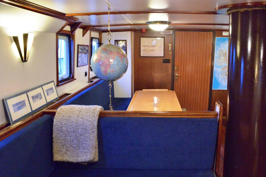S/V Noorderlicht - Bar & Dining Area