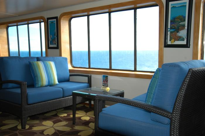 Lounge Area - Reef Endeavour Fiji