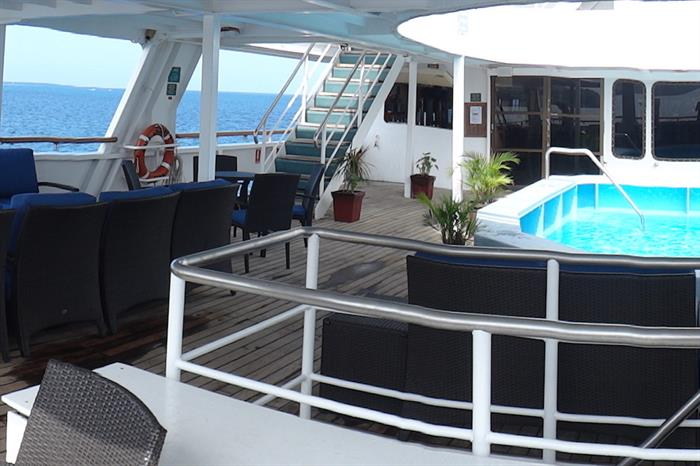 Pool Deck - Reef Endeavour Fiji