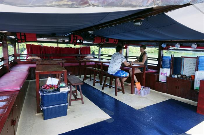 Sun Deck - Jaya Liveaboard Indonesia