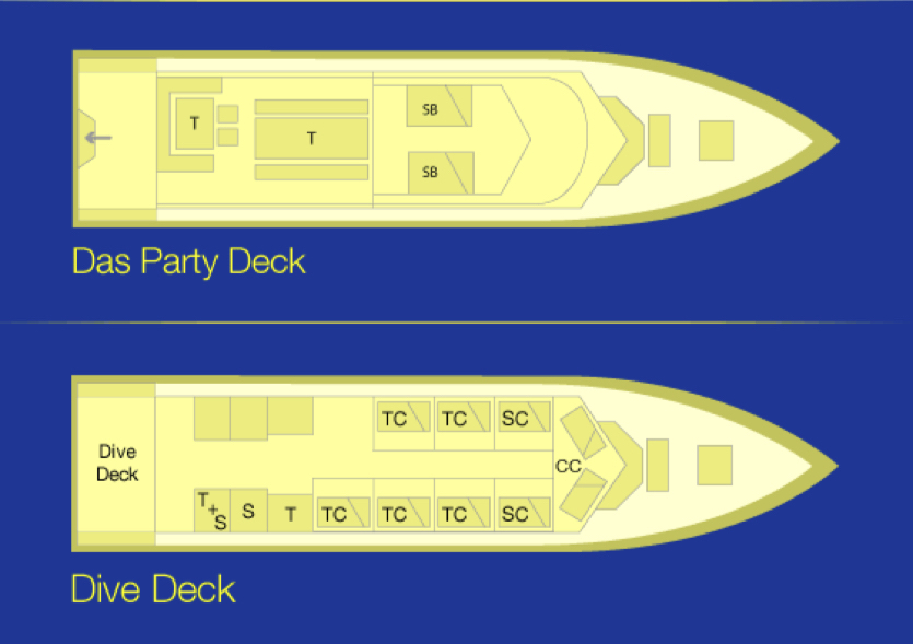 Genesis I Deck Plan floorplan