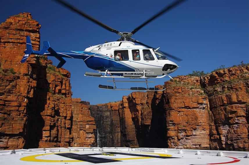 Helicopter - True North Australia