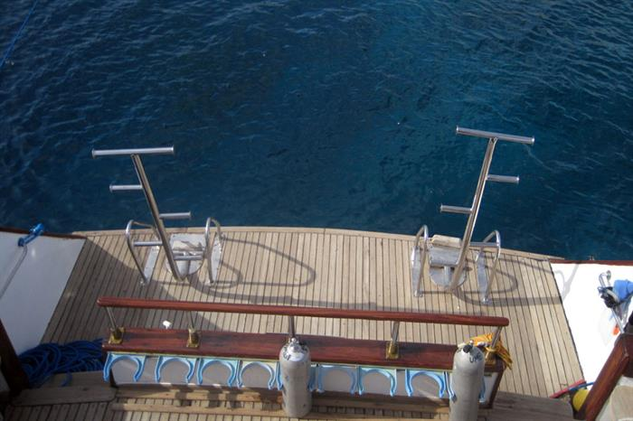 Dive deck - Freedom VIII Egypt