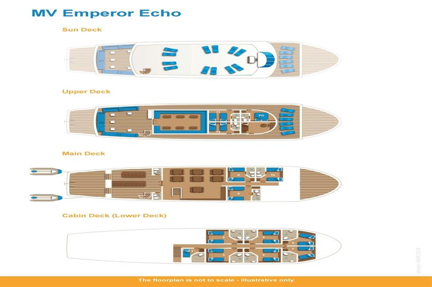 Emperor Echo Deck Plan floorplan