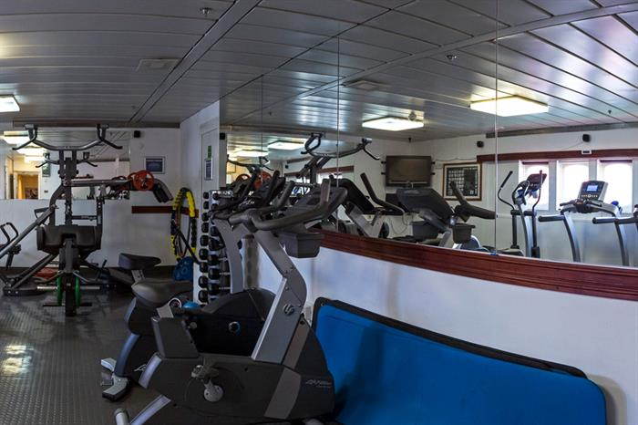 Antarctica Expedition Ship Interior Gym