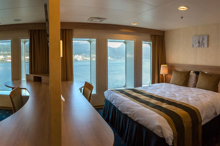 Antarctica Expedition Ship Interior Cabin Suite