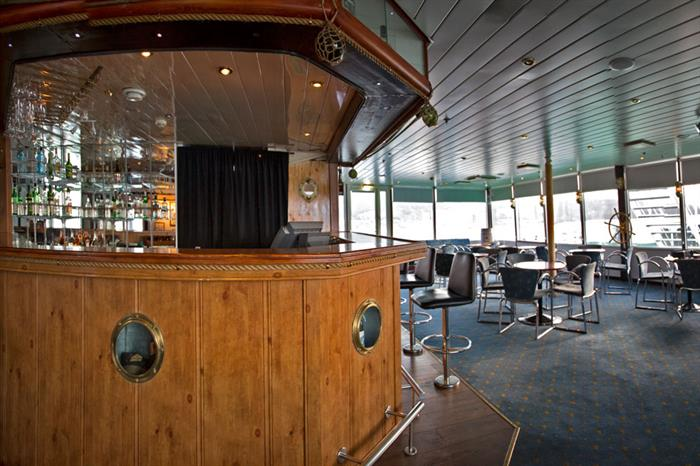 Antarctica Expedition Ship Interior Polar Bar