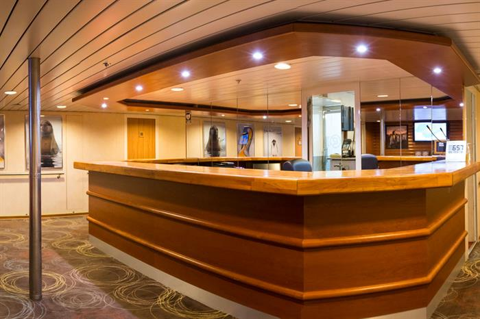 Antarctica Expedition Ship Interior Reception