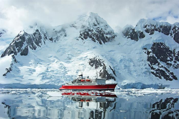 Antarctica Landscape Expedition Ship