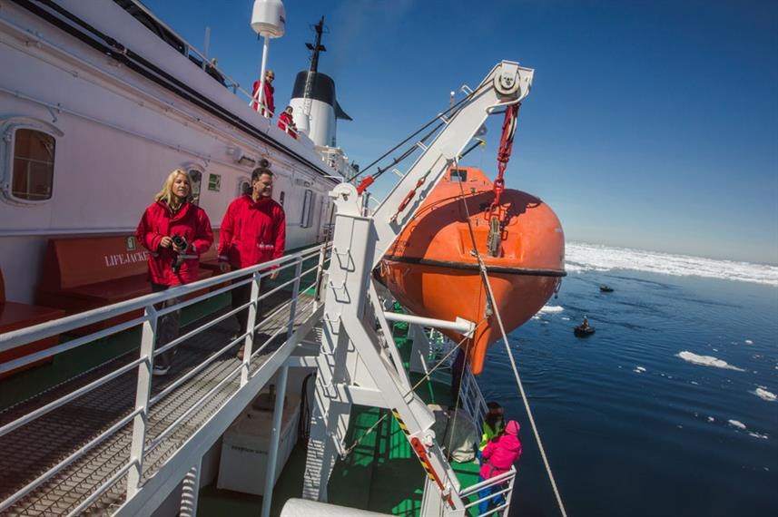 MS Expedition in Antarctica