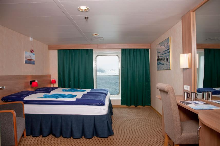 Antarctica Expedition Category 4 Cabin Stateroom