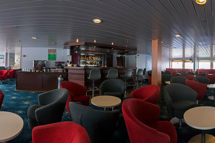 Arctic Expedition Ship Interior Lounge