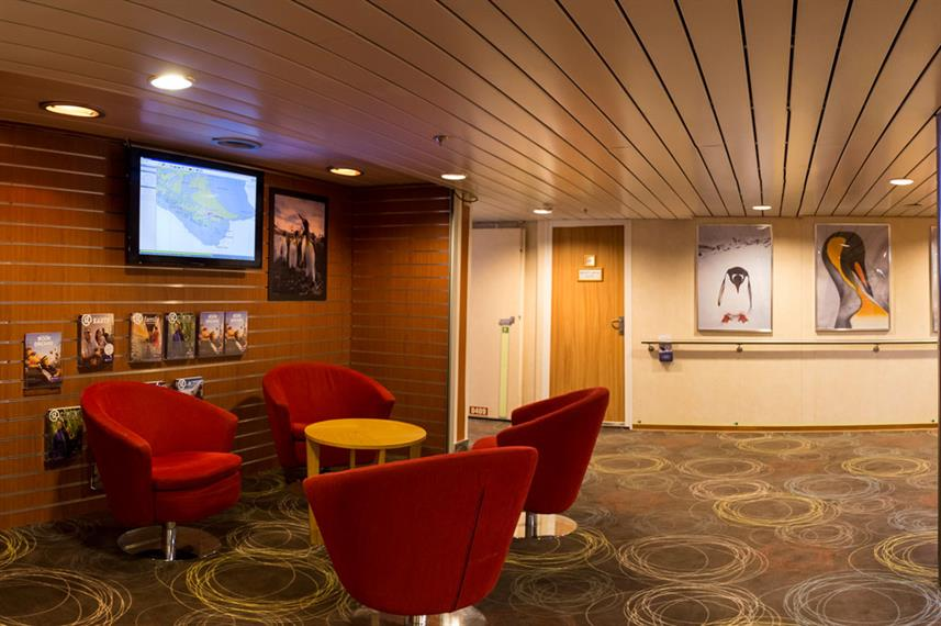 Arctic Expedition Ship Interior Reception