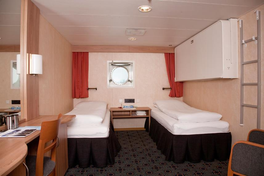 Arctic Expedition Category 2 Cabin Twin