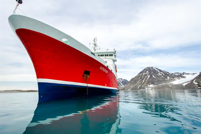 Arctic Svalbard Expedition Ship
