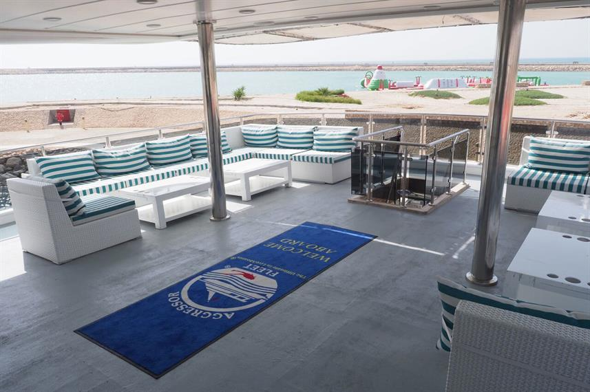 Outdoor Lounge - Oman Aggressor