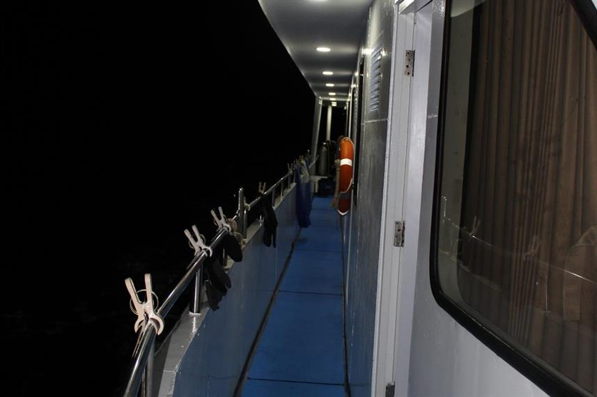 Exterior of main deck - Bavaria Thailand Liveaboard