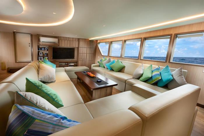Saloon Gaia Love - Indonesia Liveaboard