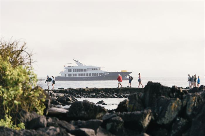 Land - Origin cruise Galapagos