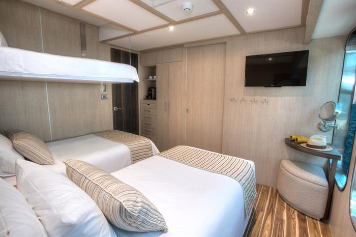 Staterooms - Origin cruise Galapagos