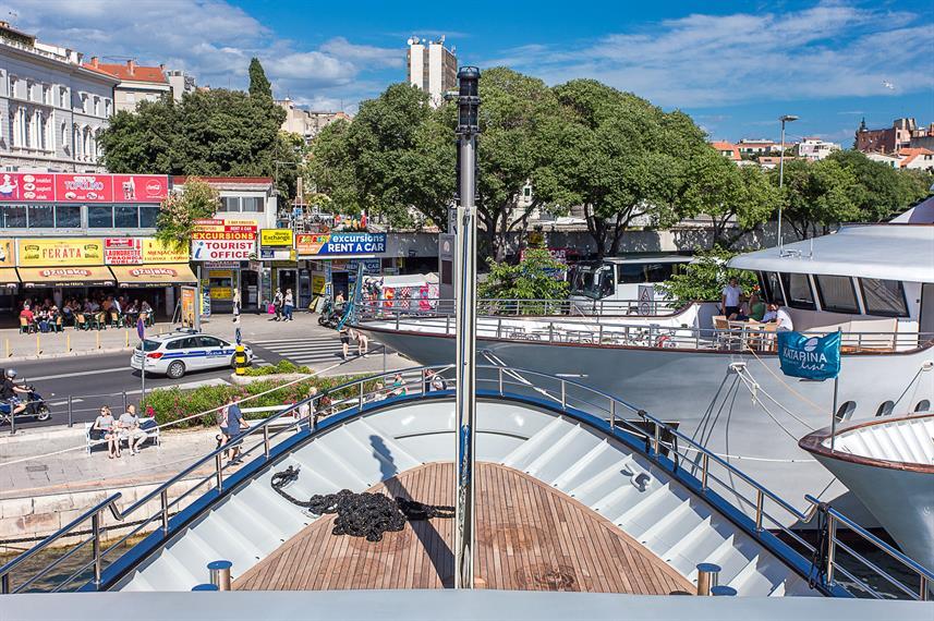 Ave Maria Cruise Ship Croatia Liveaboard Com