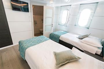 Above Deck Cabins