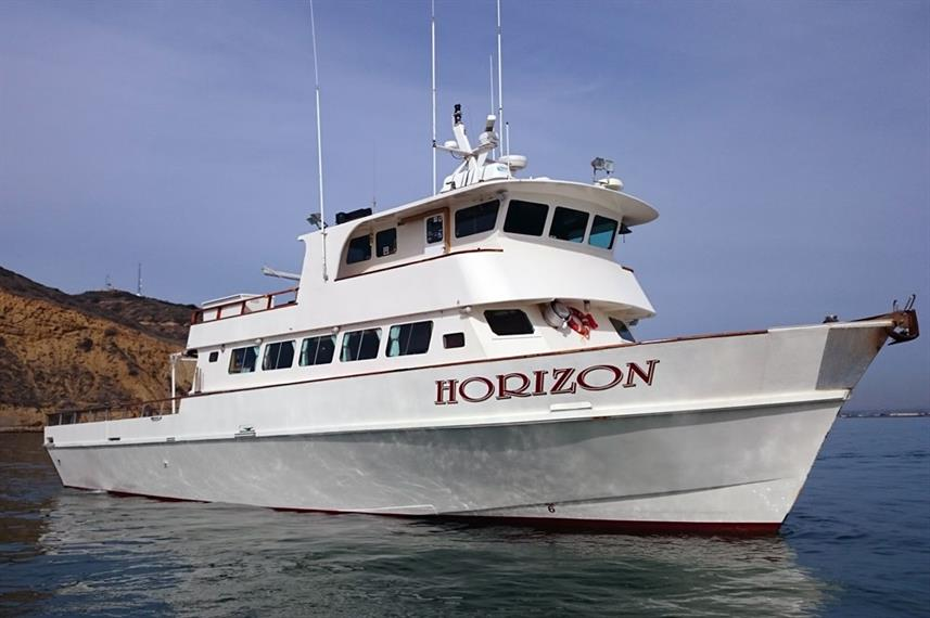 America's Shark Boat MV Horizon