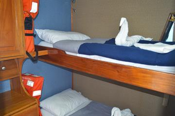 Standard Bunk Bed Cabins