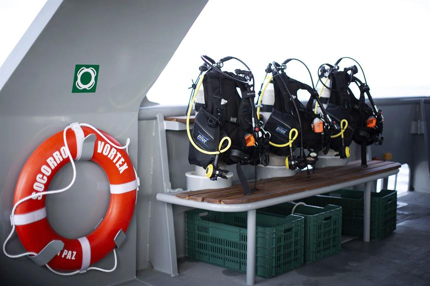 Dive deck - Socorro Vortex