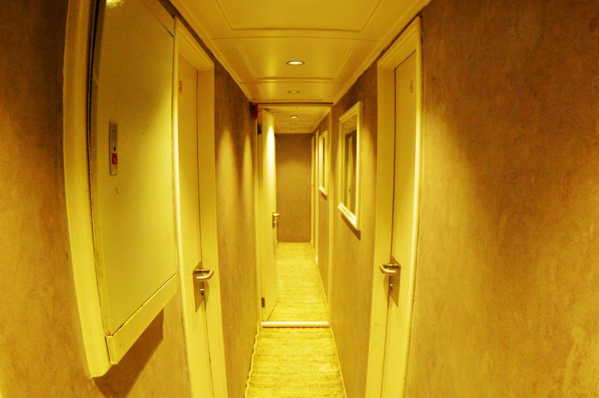 Lower Deck Hallway