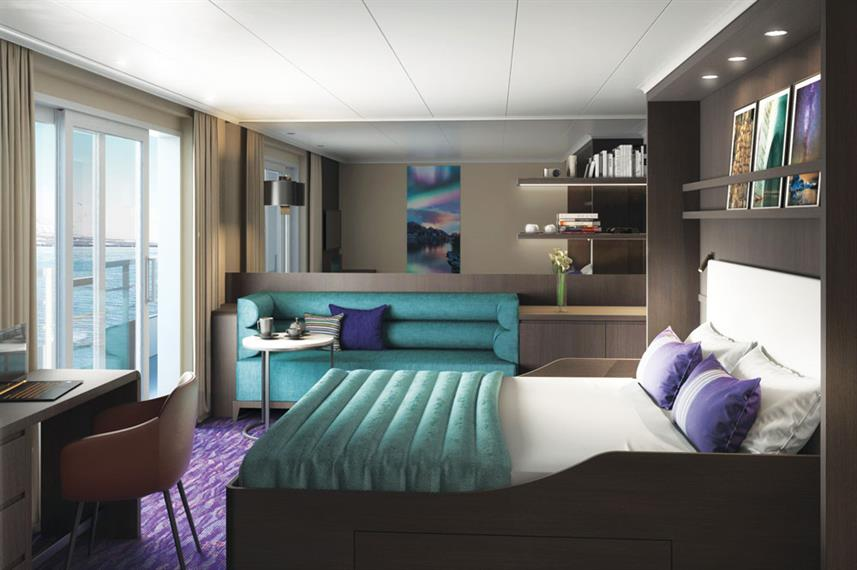 Grand Suite with Private Balcony - Hondius Antarctica