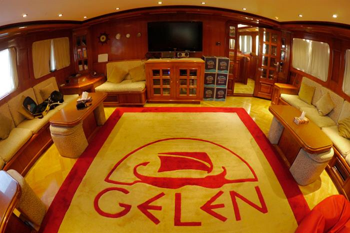 Salon interior - Gelen