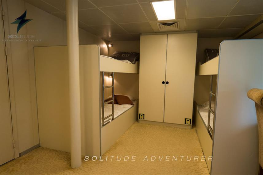 Cabine quadruple - Solitude Adventurer