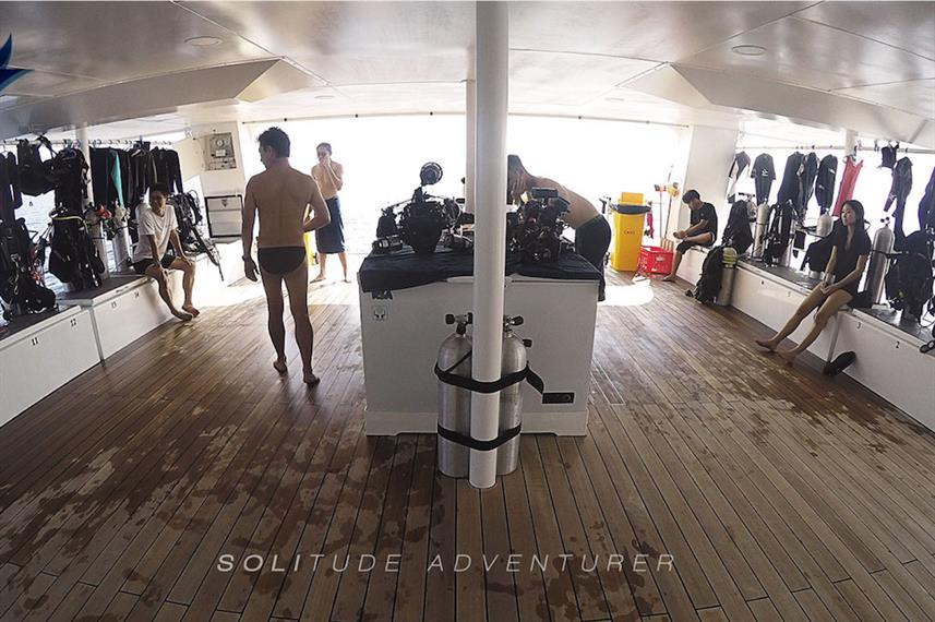Dive deck - Solitude Adventurer