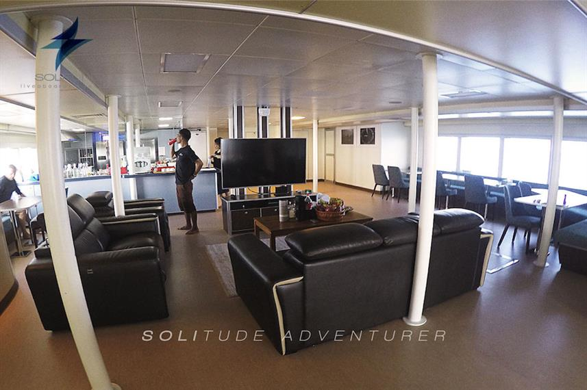 Salon met airconditioning - Solitude Adventurer