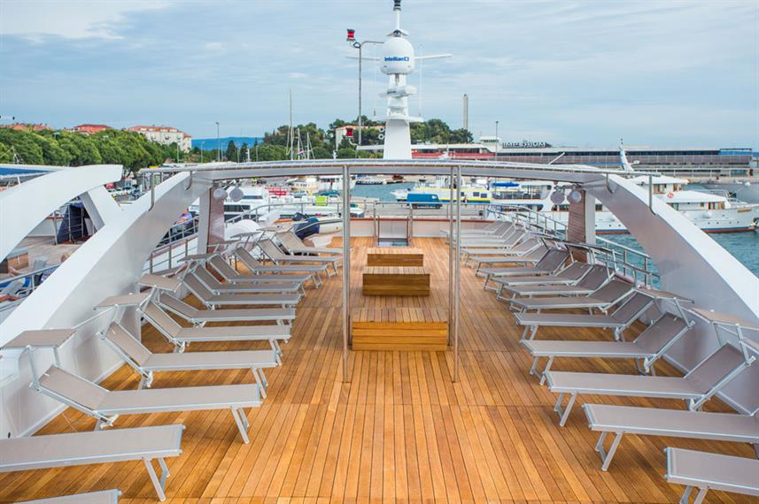 Sun Deck - Aquamarin
