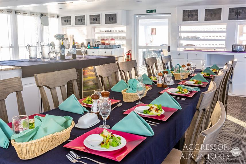 Dining Room - Cayman Aggressor V