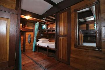 Main Cabin Double Bed