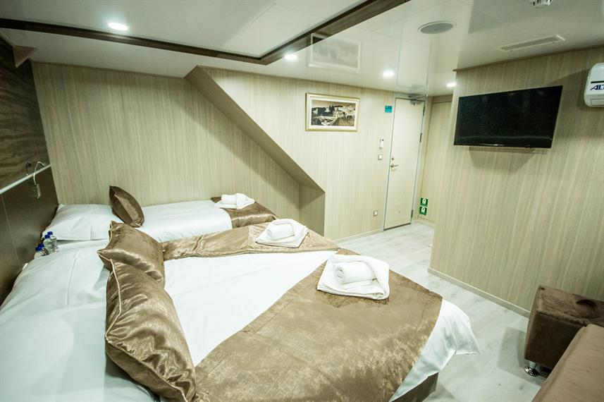 Lower Deck Cabin - Markan