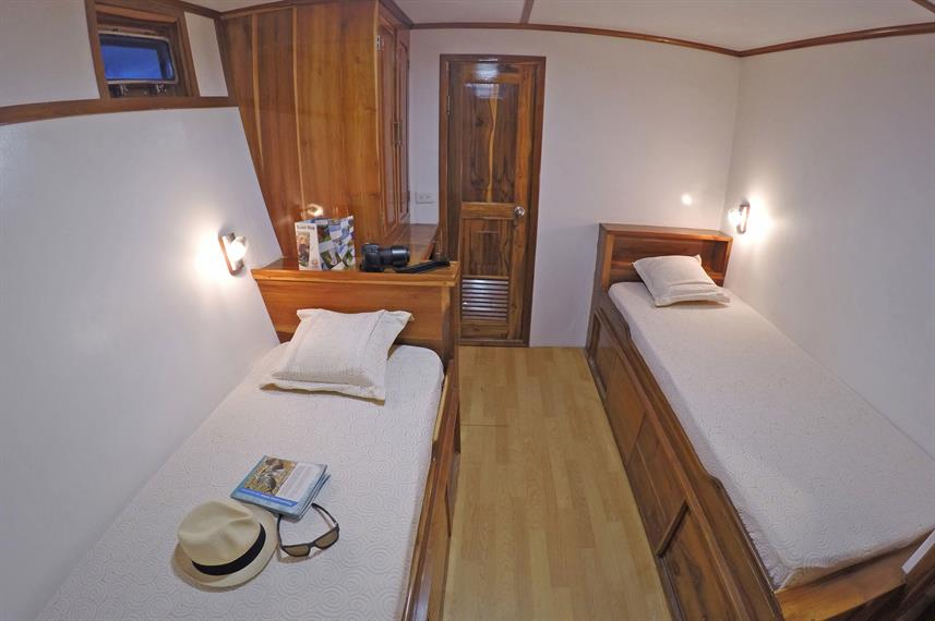 Lower Deck Cabin  - Eden
