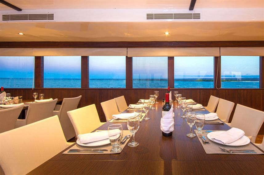 Dining Room - Galapagos Odyssey