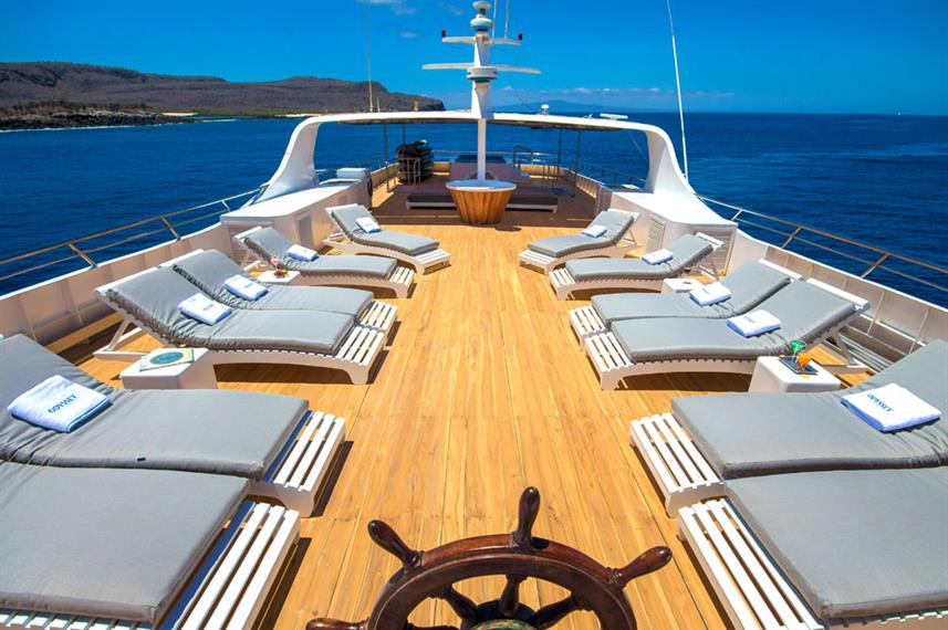 Sonnendeck - Galapagos Odyssey