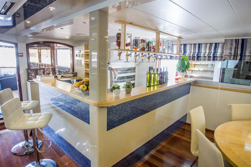 Bar Area - Captain Bota