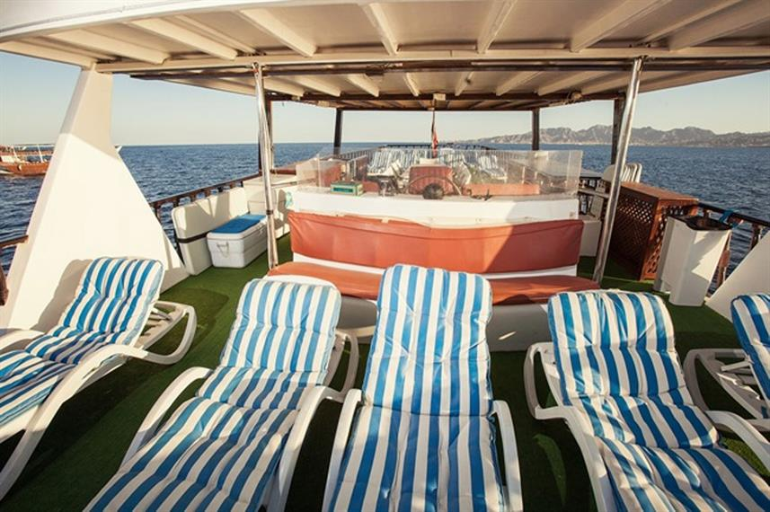 Sun Deck - Red Dhow