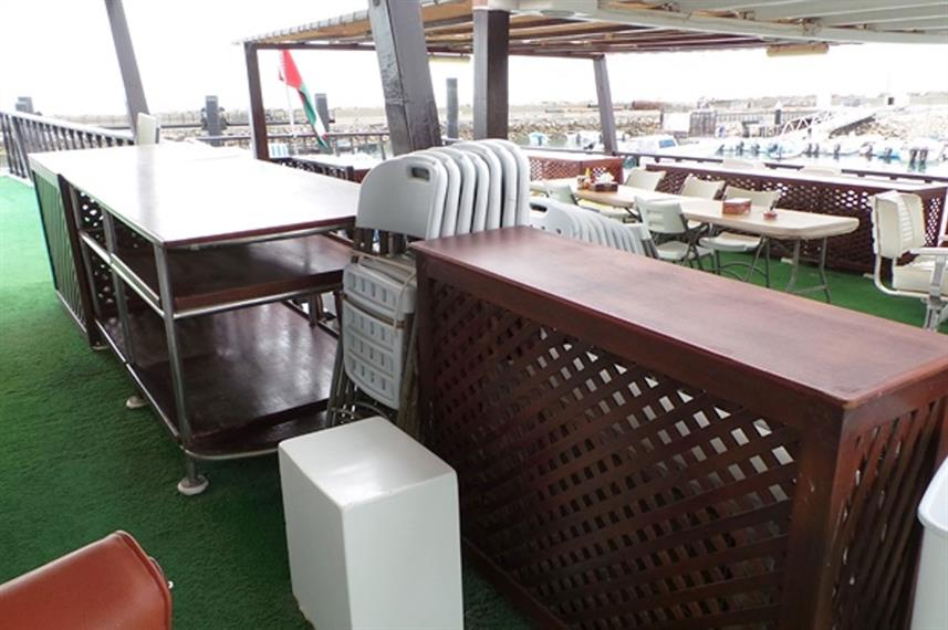 Outdoor Dining - Red Dhow
