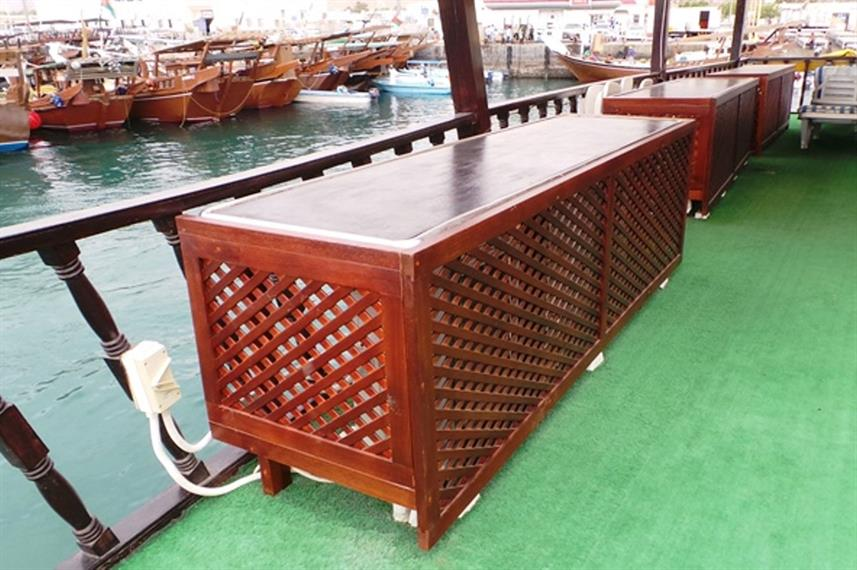 Buitenrestaurant - Red Dhow