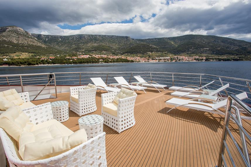 Sun Deck - Adriatic Queen