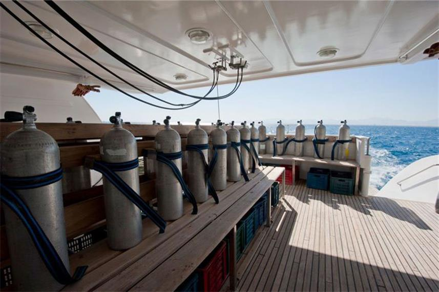 Dive deck - Liberty