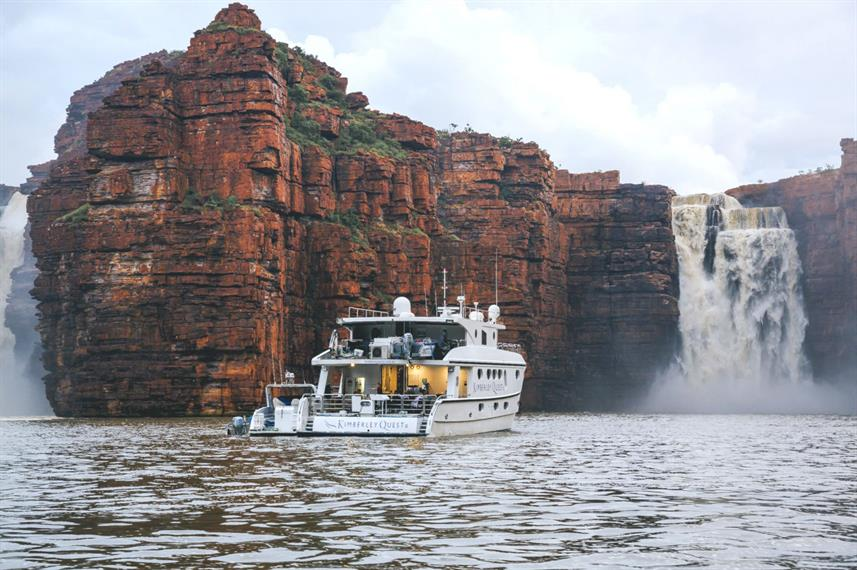 King George Falls after rains