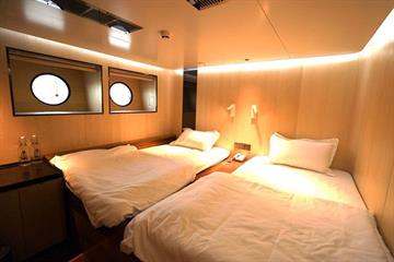 Lower Deck Tatami Cabins